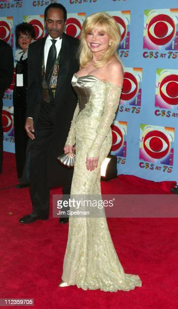 Loni Anderson during CBS at 75 at Hammerstein Ballroom in New York City New York United States