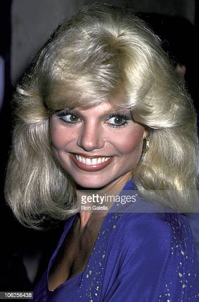 Loni Anderson during Loni Anderson at a Taping of 'The Merv Griffin Show' at Merv Griffin Studios in Los Angeles California United States