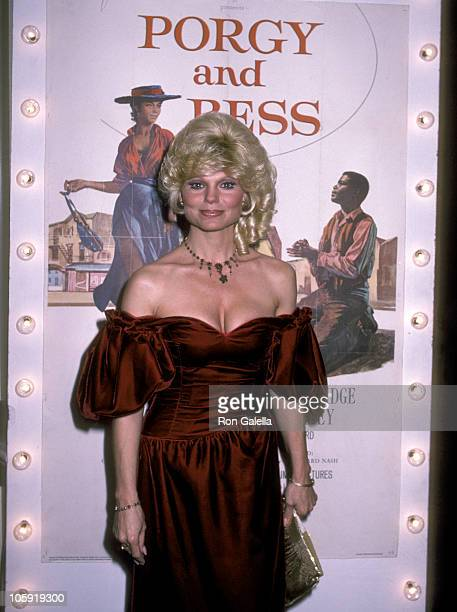 Loni Anderson during Sammy Davis Jr Honored At The Candy Man Ball By Temple Beth Am at Beverly Hilton Hotel in Beverly Hills California United States