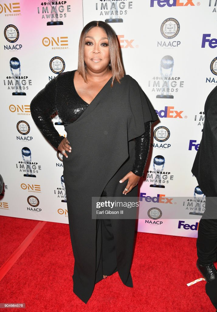 Loni Love at the 49th NAACP Image Awards Non-Televised Awards Dinner at the Pasadena Conference Center on January 14, 2018 in Pasadena, California.