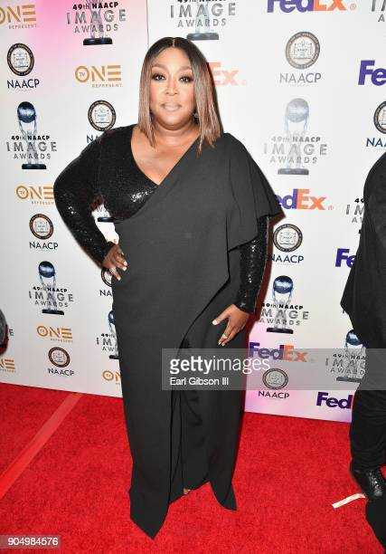 Loni Love at the 49th NAACP Image Awards NonTelevised Awards Dinner at the Pasadena Conference Center on January 14 2018 in Pasadena California