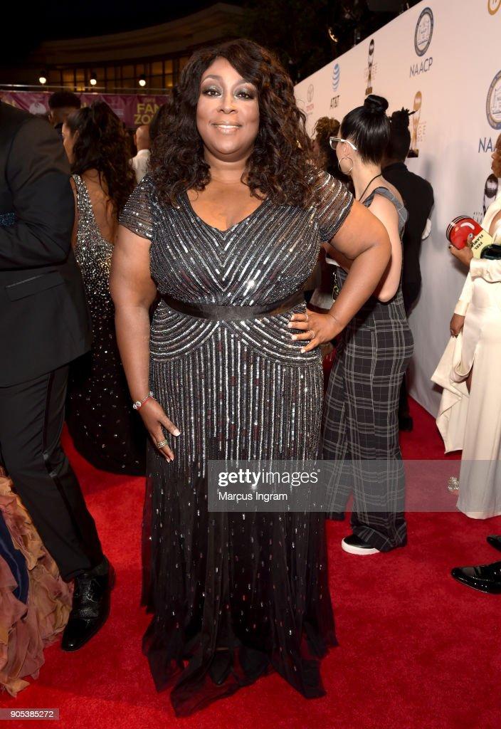 Loni Love attends the 49th NAACP Image Awards at Pasadena Civic Auditorium on January 15, 2018 in Pasadena, California.