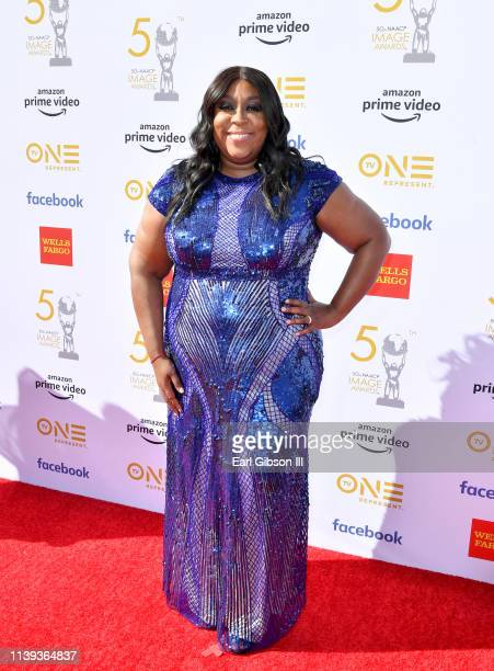 Loni Love attends the 50th NAACP Image Awards at Dolby Theatre on March 30 2019 in Hollywood California