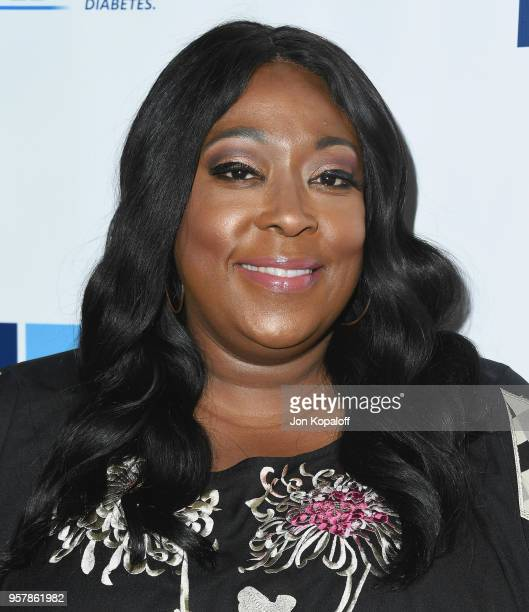 Loni Love attends the Juvenile Diabetes Research Foundation's 15th Annual Imagine Gala at The Beverly Hilton Hotel on May 12 2018 in Beverly Hills...
