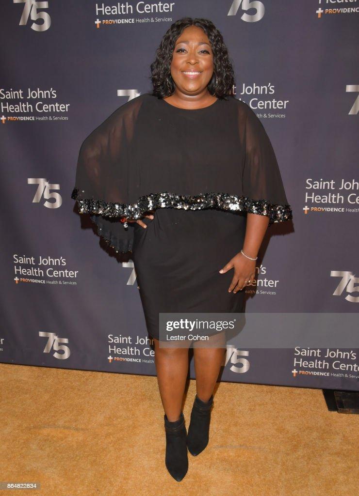 Loni Love attends the Saint John's Health Center 75th Anniversary Gala Celebration on October 21, 2017 in Culver City, California.