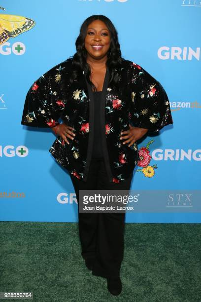Loni Love attends the world premiere of 'Gringo' from Amazon Studios and STX Films at Regal LA Live Stadium 14 on March 6 2018 in Los Angeles...