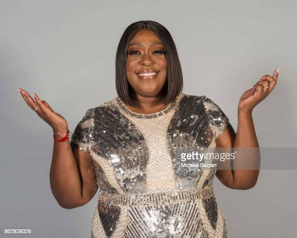 Loni Love poses for portrait at 45th Daytime Emmy Awards Portraits by The Artists Project Sponsored by the Visual Snow Initiative on April 29 2018 in...