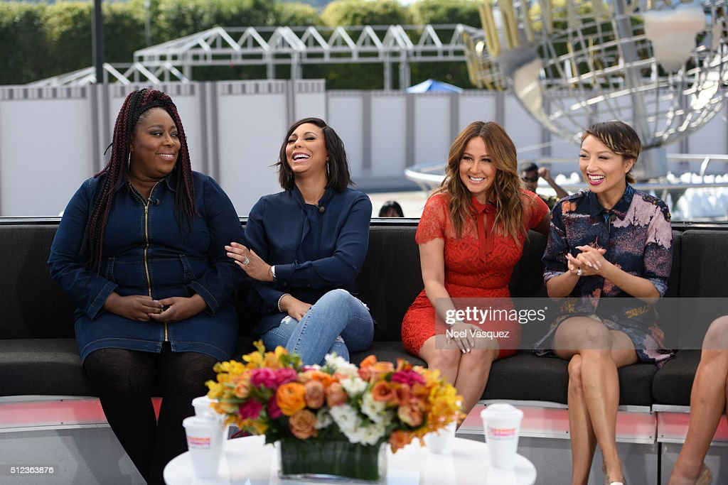 """Ladies Of """"The Real"""" On """"Extra"""" : News Photo"""