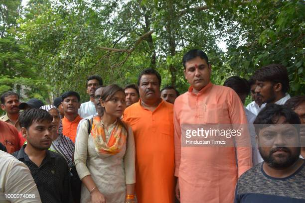 Loni MLA on Monday brought nine families of victims whose kins got drowned in Upper Ganga Canal in different incidents to the district magistrate...