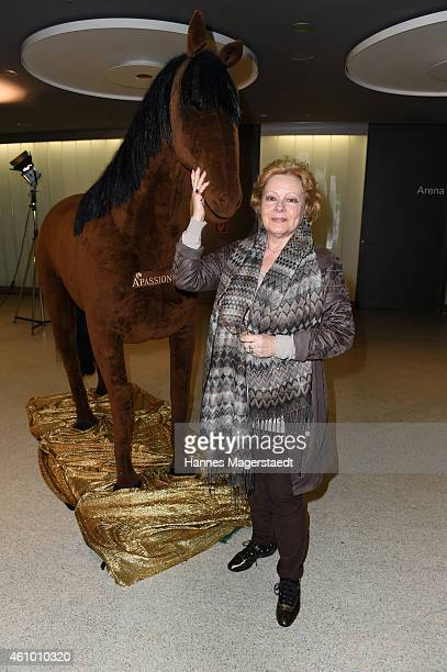 Loni von Friedl attends 'Apassionata - Die goldene Spur' Munich Premiere at Olympiahalle on January 3, 2015 in Munich, Germany.