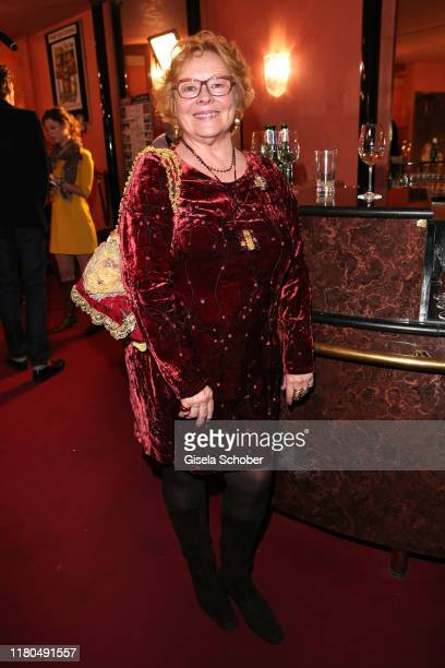 """Loni von Friedl during the premiere of the theater play """"Sonny Boys"""" at Komoedie im Bayerischen Hof on November 6, 2019 in Munich, Germany."""