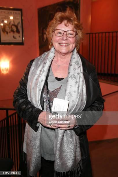 Loni von Friedl during the premiere of the theatre play Noch einmal verliebt at Komoedie im Bayerischen Hof on February 27 2019 in Munich Germany