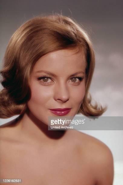 Loni von Friedl österreichische Schauspielerin Deutschland circa 1962 Austrian actress Loni von Friedl Germany circa 1962