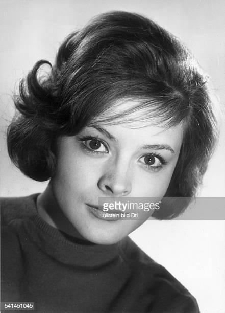 Loni von Friedl*Schauspielerin ÖsterreichPorträt 1961