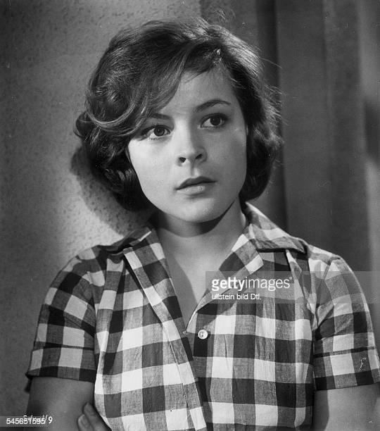 Loni von Friedl*Schauspielerin ÖsterreichPorträt in Rolle in dem Film 'Die Schatten werden länger'Regie Ladislao VajdaDeutschland 1961