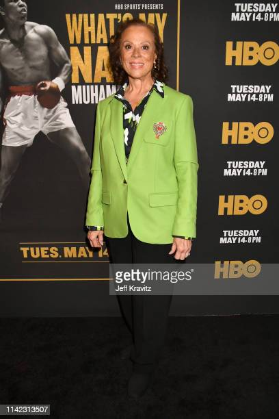 Lonnie Ali attends the Los Angeles Premiere of What's My Name | Muhammad Ali from HBO on May 08 2019 in Los Angeles California