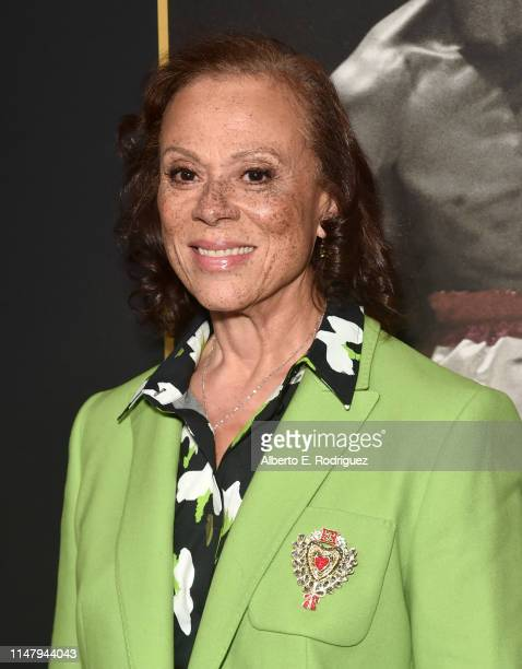 """Lonnie Ali attends the premiere of HBO's """"What's My Name: Muhammad Ali"""" at Regal Cinemas L.A. LIVE Stadium 14 on May 08, 2019 in Los Angeles,..."""