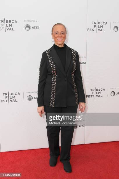 Lonnie Ali attends the What's My Name | Muhammad Ali Tribeca Premiere on April 28 2019 in New York City