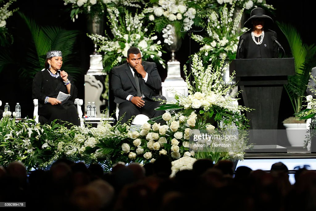 Funeral Held For Boxing Legend Muhammad Ali In His Hometown Of Louisville, Kentucky : News Photo
