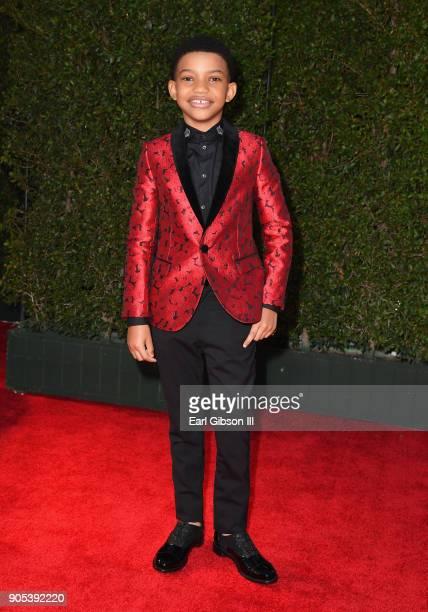 Lonnie Chavis at the 49th NAACP Image Awards on January 15 2018 in Pasadena California