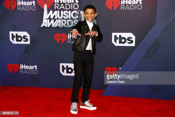Lonnie Chavis attends the 2018 iHeartRadio Music Awards at the Forum on March 11 2018 in Inglewood California