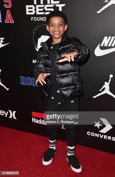 Lonnie Chavis attends the 2018 Rookie USA Show at Milk Studios on February 15 2018 in Los Angeles California