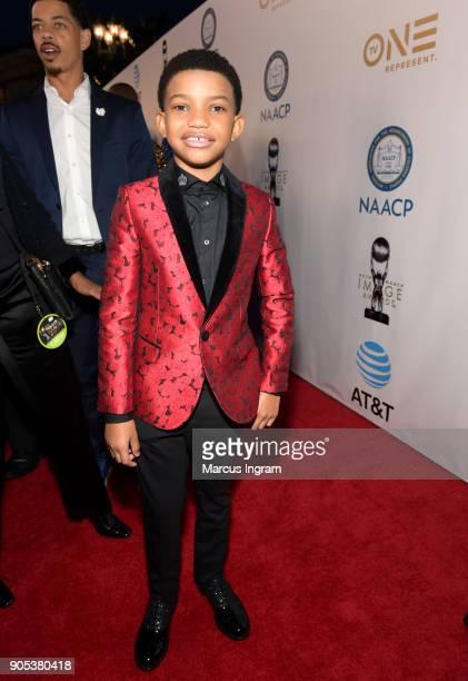 Lonnie Chavis attends the 49th NAACP Image Awards at Pasadena Civic Auditorium on January 15 2018 in Pasadena California
