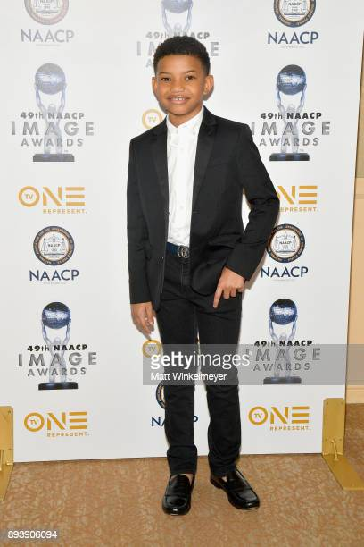 Lonnie Chavis attends the 49th NAACP Image Awards Nominees' Luncheon at The Beverly Hilton Hotel on December 16 2017 in Beverly Hills California