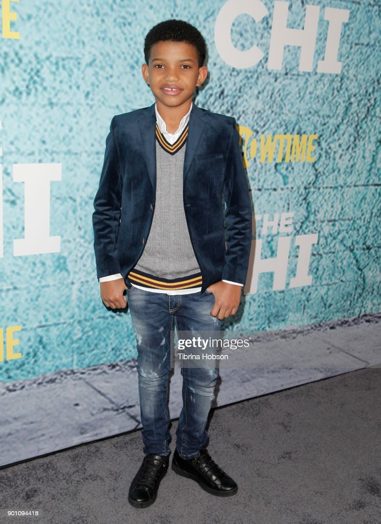 Lonnie Chavis attends the premiere of Showtime's 'The Chi' at Downtown Independent on January 3, 2018 in Los Angeles, California.