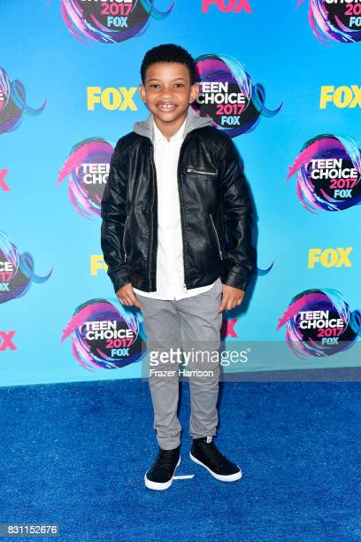 Lonnie Chavis attends the Teen Choice Awards 2017 at Galen Center on August 13 2017 in Los Angeles California