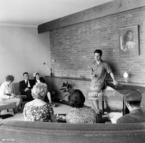 Lonnie Donegan at home 13th May 1959