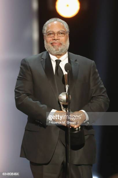 Lonnie G. Bunch III accepts The President's Award onstage at the 48th NAACP Image Awards at Pasadena Civic Auditorium on February 11, 2017 in...