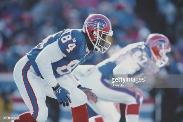 Lonnie Johnson Tight End for the Buffalo Bills during the American Football Conference East game against the Jacksonville Jaguars on 14 December 1997...