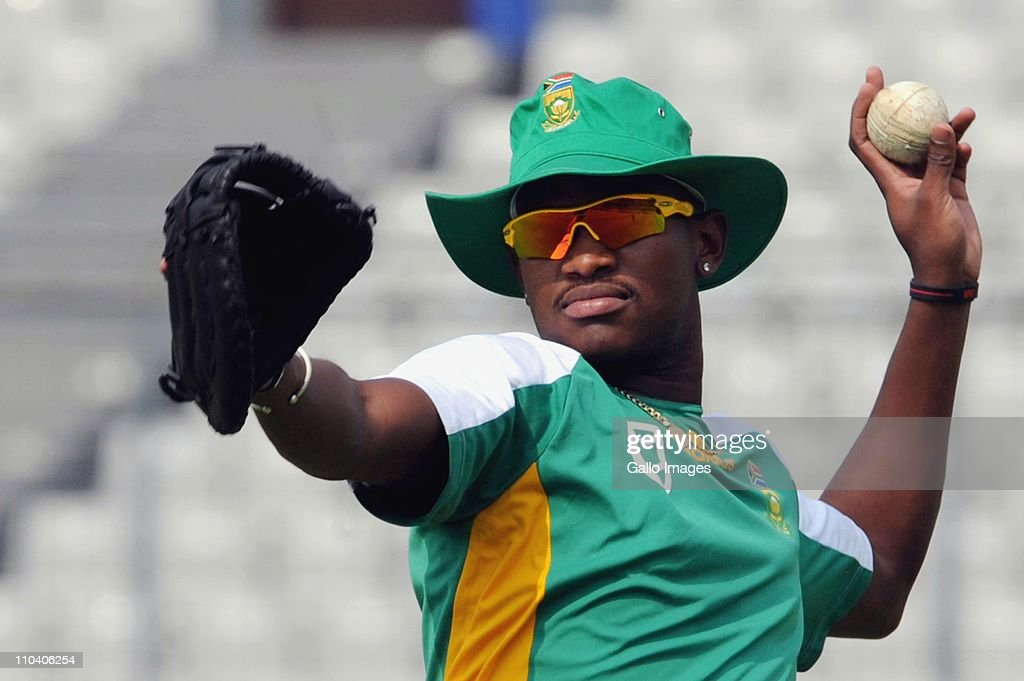 South Africa Nets Session - 2011 ICC World Cup