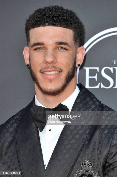 Lonzo Ball attends the 2019 ESPY Awards at Microsoft Theater on July 10 2019 in Los Angeles California