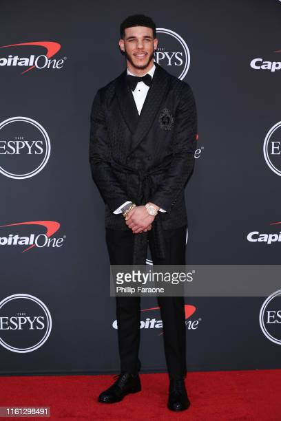 Lonzo Ball attends The 2019 ESPYs at Microsoft Theater on July 10 2019 in Los Angeles California