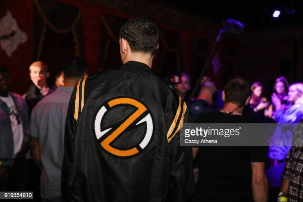 Lonzo Ball of the Los Angeles Lakers attends the Big Baller Brand hosts a fashion show and the release of Lonzo Ball's 'Born 2 Ball' mixtape at the...
