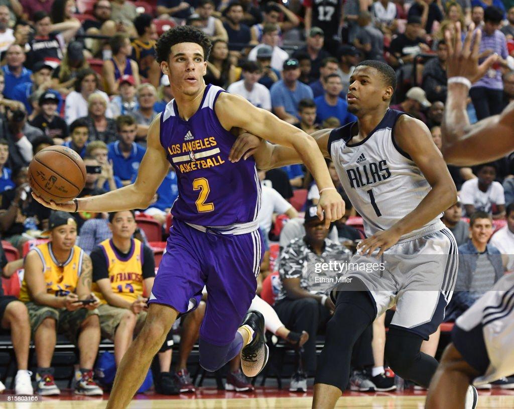 2017 Las Vegas Summer League Los Angeles Lakers v Dallas Mavericks : News Photo