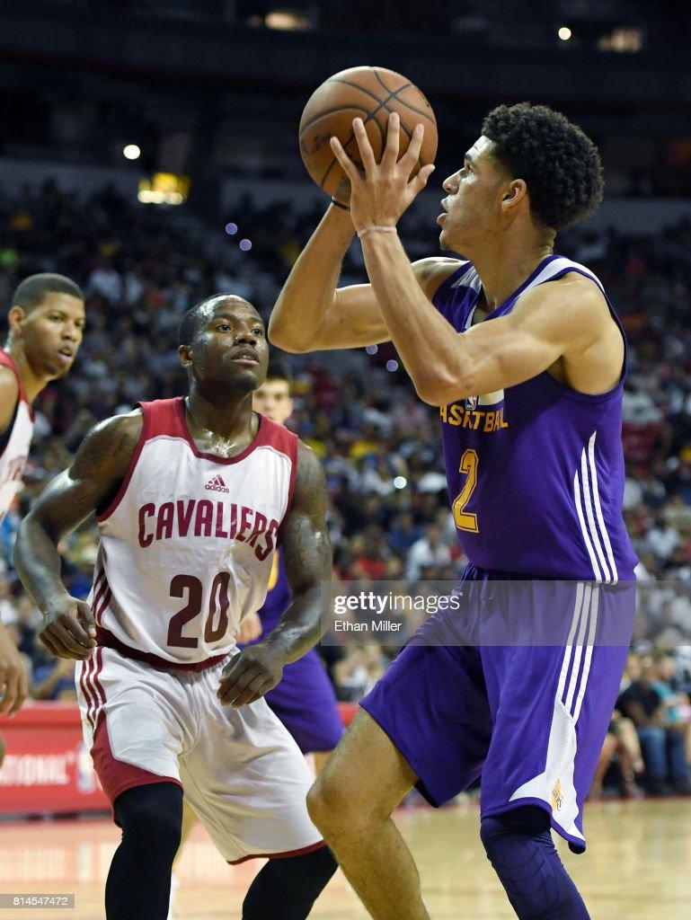 2017 Las Vegas Summer League - Los Angeles Lakers v Cleveland Cavaliers : News Photo