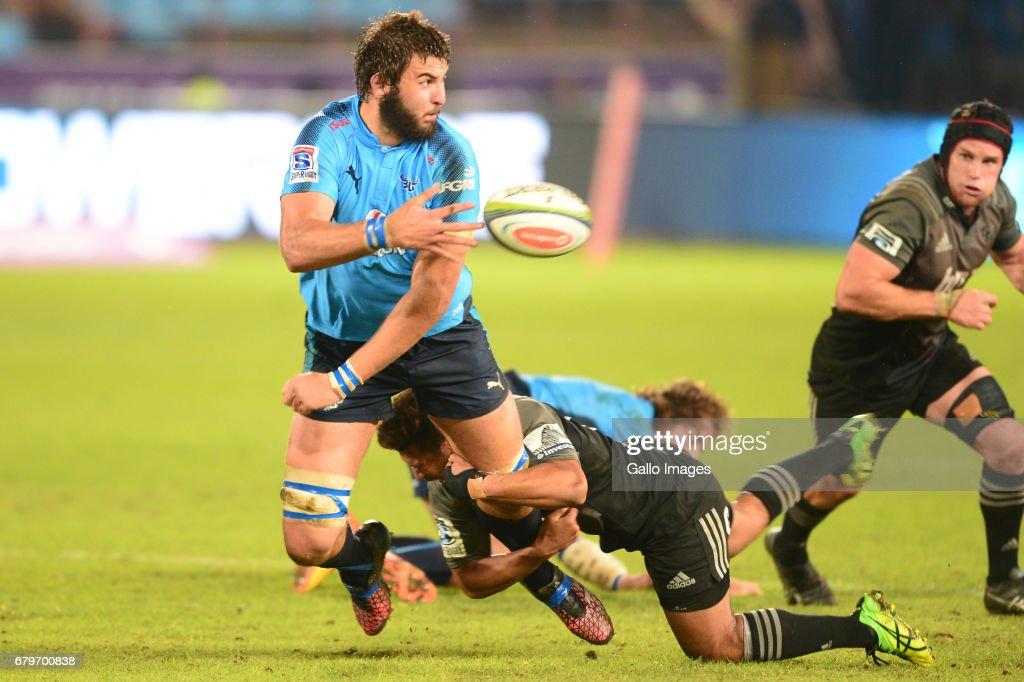 Super Rugby Rd 11 - Vodacom Bulls v Crusaders : News Photo