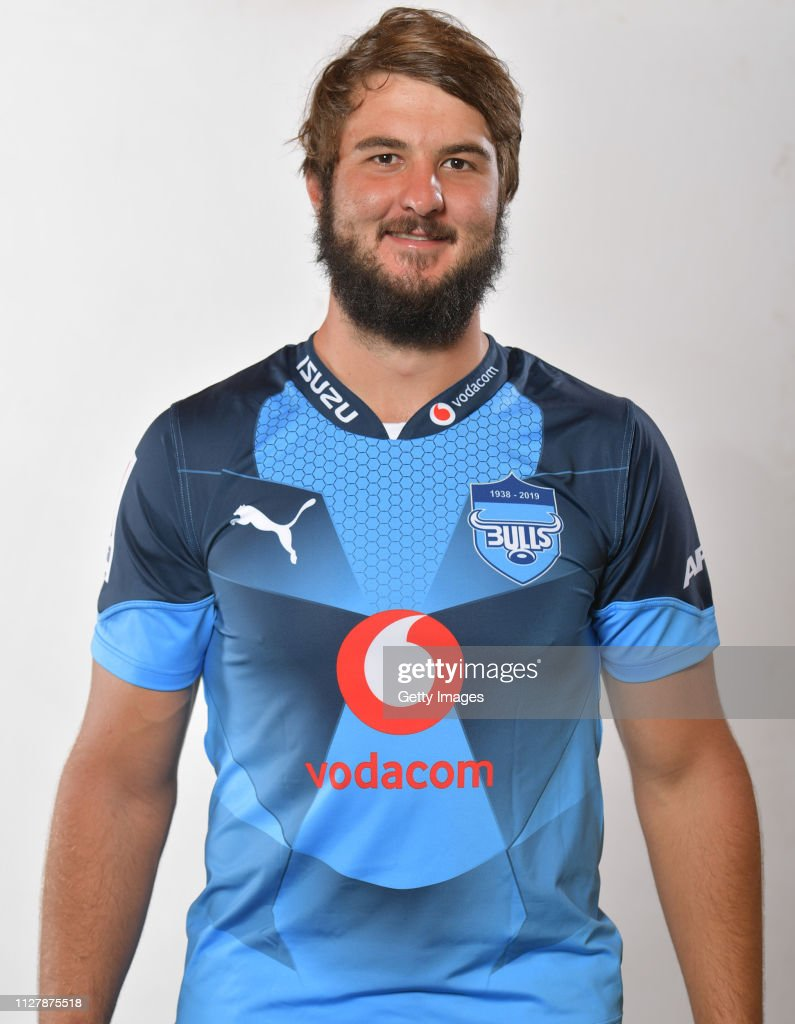 Bulls 2019 Super Rugby Headshots Session : News Photo