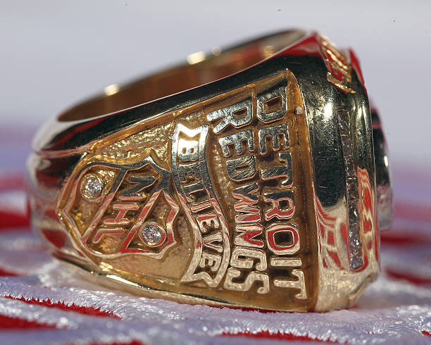 Red Wings Stanley Cup Rings