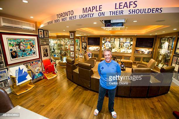 TORONTO ON OCTOBER 28 A look at the ultimate Leafs fan and his collection of memorabilia that is said to rival the Hockey Hall of Fame It's...