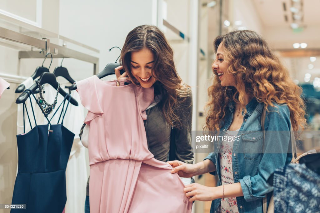 Look at this gorgeous dress! : Stock Photo