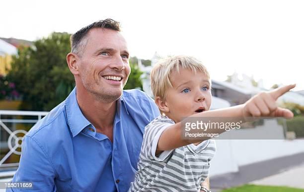 Look dad!