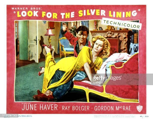 Look For The Silver Lining lobbycard Gordon MacRae spanking June Haver 1949