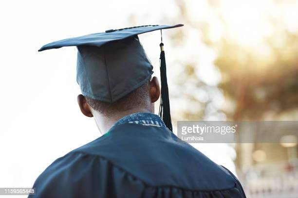 i look forward to the future - graduation stock pictures, royalty-free photos & images