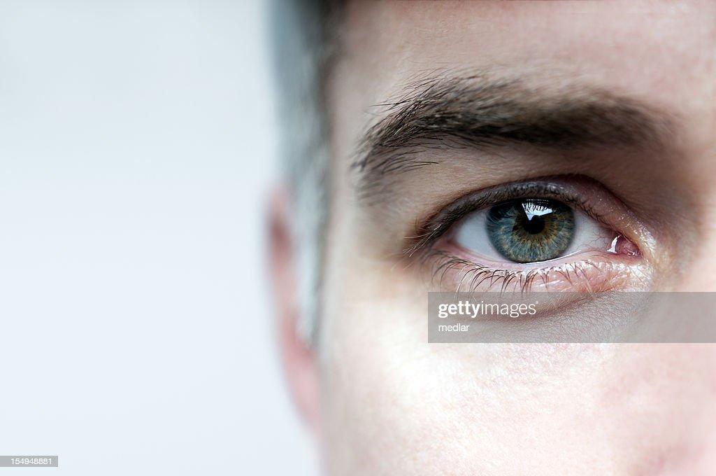 Look mir in die Augen : Stock-Foto