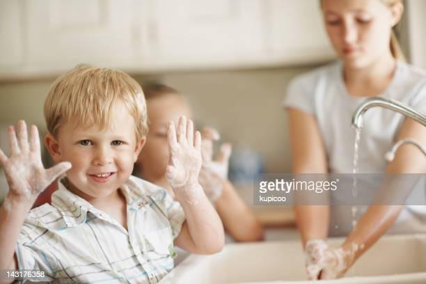 Look mom, no germs!