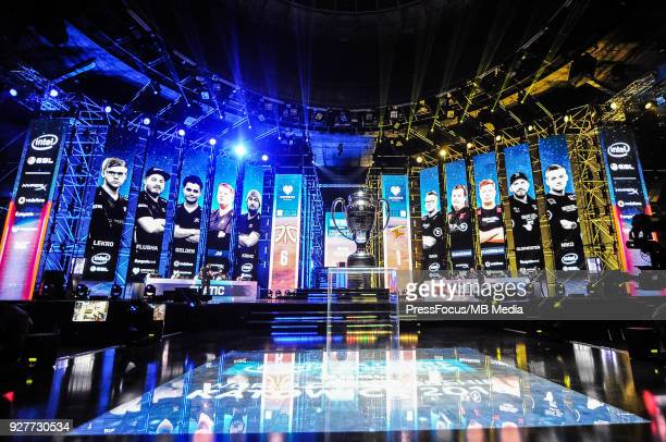 Look on a stage during CounterStrike Global Offensive final game between FaZe Clan and Fnatic on March 4 2018 in Katowice Poland